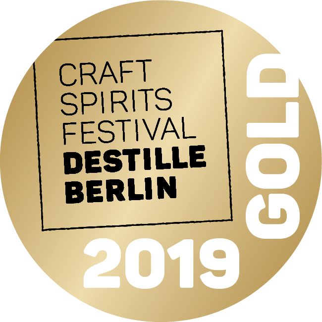 Destille Berlin Medaille 2019 GOLD 1